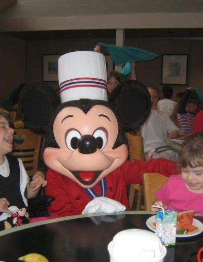 Elizabeth and Caroline at Disney - I tried to do it all!