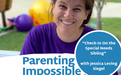 "Episode 85: ""Check-In On the Special Needs Sibling"" with Jessica Leving Siegel"