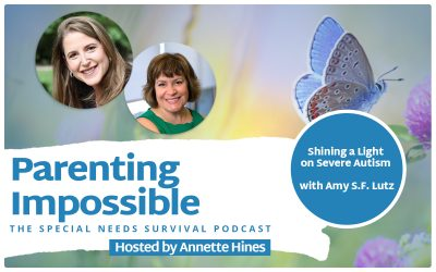 Episode 123: Shining a Light on Severe Autism with Amy S.F. Lutz