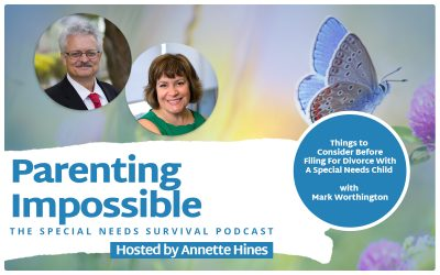 Episode 125: Things to Consider Before Filing For Divorce With A Special Needs Child with Mark Worthington (Reprise)